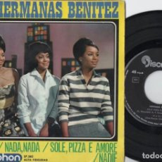 Discos de vinilo: HERMANAS BENITEZ - AMERICA - EP DE VINILO. Lote 234450045