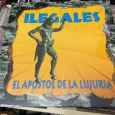Discos de vinilo: Y LEGALES EL APÓSTOL DE LA LUJURIA LP DISCO DE VINILO PRECINTADO. Lote 234450980