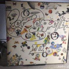 Discos de vinilo: LED ZEPPELIN III - HISPAVOX - EDICIÓN ESPAÑOLA 1970 - GATEFOLD. Lote 234455355