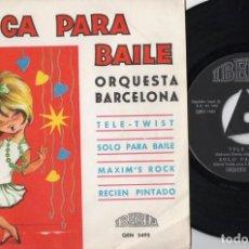 Discos de vinilo: ORQUESTA BARCELONA - TELE-TWIST - EP DE VINILO. Lote 234456145