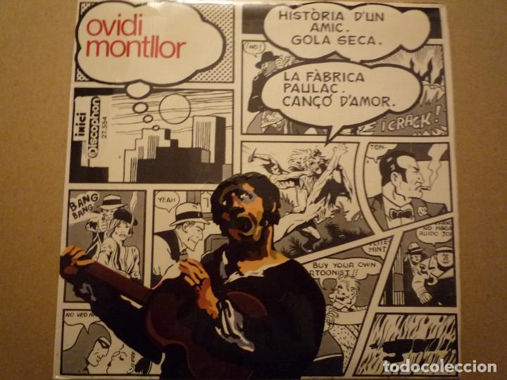 "OVIDI MONTLLOR ""HISTÒRIA D'UN AMIC+3"" EP 1969 DISCOPHON (Música - Discos de Vinilo - EPs - Cantautores Españoles)"