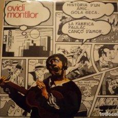 """Discos de vinilo: OVIDI MONTLLOR """"HISTÒRIA D'UN AMIC+3"""" EP 1969 DISCOPHON. Lote 234462295"""
