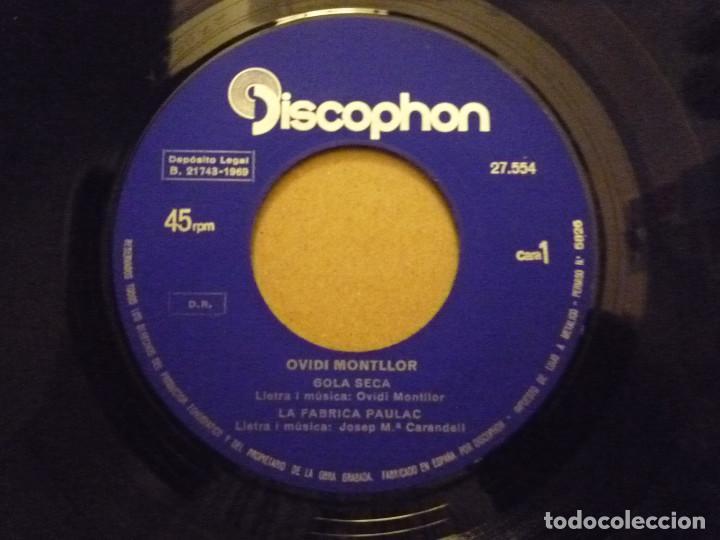 "Discos de vinilo: OVIDI MONTLLOR ""HISTÒRIA DUN AMIC+3"" EP 1969 DISCOPHON - Foto 3 - 234462295"