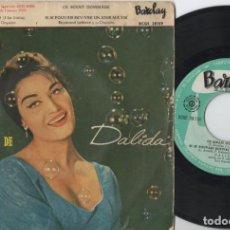 Disques de vinyle: DALIDA - LA CHANSON DORPHEE - EP DE VINILO EDICION ESPAÑOLA. Lote 234486970