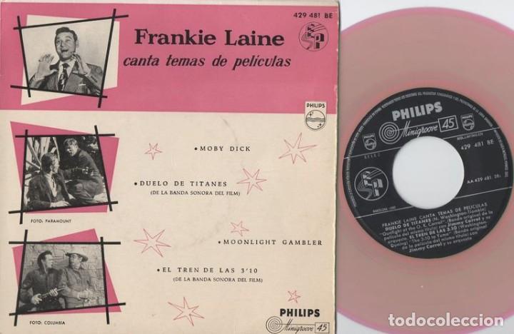 FRANKIE LAINE - TEMAS DE PELICULAS - MOBY DICK - EP DE VINILO (Música - Discos de Vinilo - EPs - Bandas Sonoras y Actores)