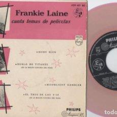 Discos de vinilo: FRANKIE LAINE - TEMAS DE PELICULAS - MOBY DICK - EP DE VINILO. Lote 234488900
