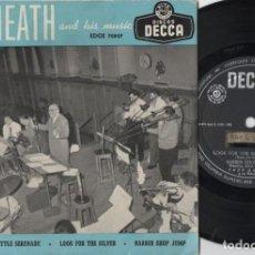 Discos de vinilo: TED HEATH AND HIS MUSIC - TEQUILA - EP DE VINILO. Lote 234489720