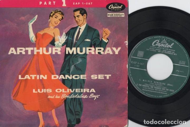 ARTHUR MURRAY - LATIN DANCE SET - EP DE VINILO (Música - Discos de Vinilo - EPs - Country y Folk)