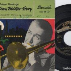 Discos de vinilo: THE GLENN MILLER STORY - IN THE MOOD - EP DE VINILO. Lote 234490445