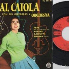 Discos de vinilo: AL CAIOLA CON SUS GUITARRAS Y ORQUESTA - PEPE - EP DE VINILO. Lote 234490605