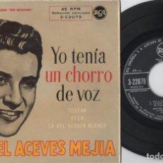 Discos de vinilo: MIGUEL ACEVES MEJIA - YO TENIA UN CHORRO DE VOZ - EP DE VINILO. Lote 234490980