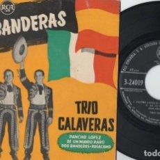 Discos de vinilo: TRIO CALAVERAS - PANCHO LOPEZ - EP DE VINILO. Lote 234491445