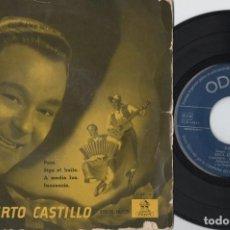 Discos de vinilo: ALBERTO CASTILLO - PATO - EP DE VINILO. Lote 234491895