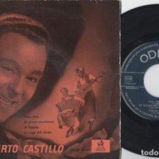 Discos de vinilo: ALBERTO CASTILLO - YIRA YIRA - EP DE VINILO. Lote 234491990