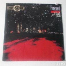 Discos de vinilo: C.C.CATCH, HEAVEN AND HELL, ED ESPAÑOLA 1986. Lote 234498955