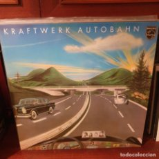 Disques de vinyle: KRAFTWERK / AUTOBAHN / NOT ON LABEL. Lote 234513155