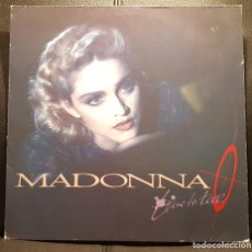 Discos de vinilo: MADONNA - LIVE TO TELL - MAXISINGLE - ALEMANIA - RARO - NO USO CORREOS. Lote 234524110