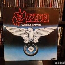 Disques de vinyle: SAXON - WHEELS OF STEEL. Lote 234525760