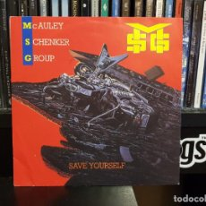 Discos de vinilo: MCAULEY SCHENKER GROUP - SAVE YOURSELF. Lote 234526430