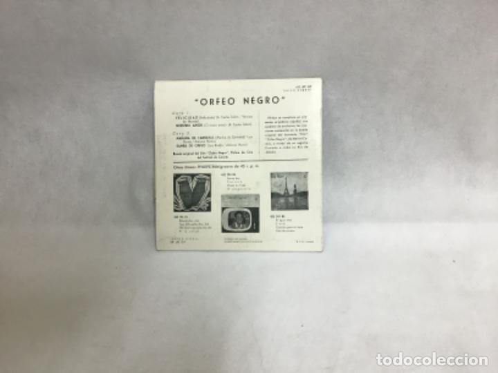 Discos de vinilo: ORFEO NEGRO, DISCO AÑO 1960 - Foto 2 - 234528550