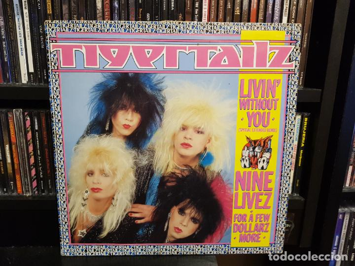 TIGERTAILZ - LIVIN' WITHOUT YOU (SPECIAL EXTENDED REMIX) (Música - Discos de Vinilo - Maxi Singles - Heavy - Metal)