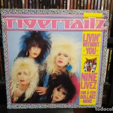 Discos de vinilo: TIGERTAILZ - LIVIN' WITHOUT YOU (SPECIAL EXTENDED REMIX). Lote 234531495