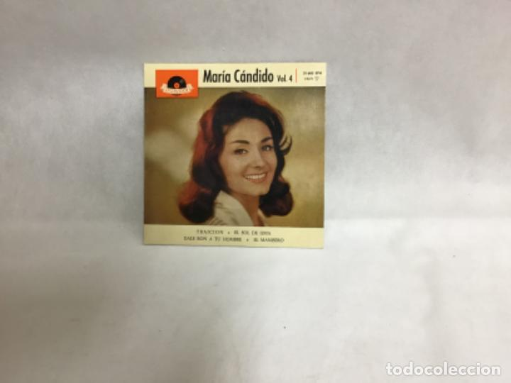 Discos de vinilo: MARÍA CÁNDIDO, DISCO AÑO 1961 - Foto 2 - 234535930