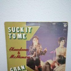 "Discos de vinilo: MAXI ALMODÓVAR & MCNAMARA - SUCK IT TO ME / GRAN GANGA (12"", MAXI). Lote 234539340"
