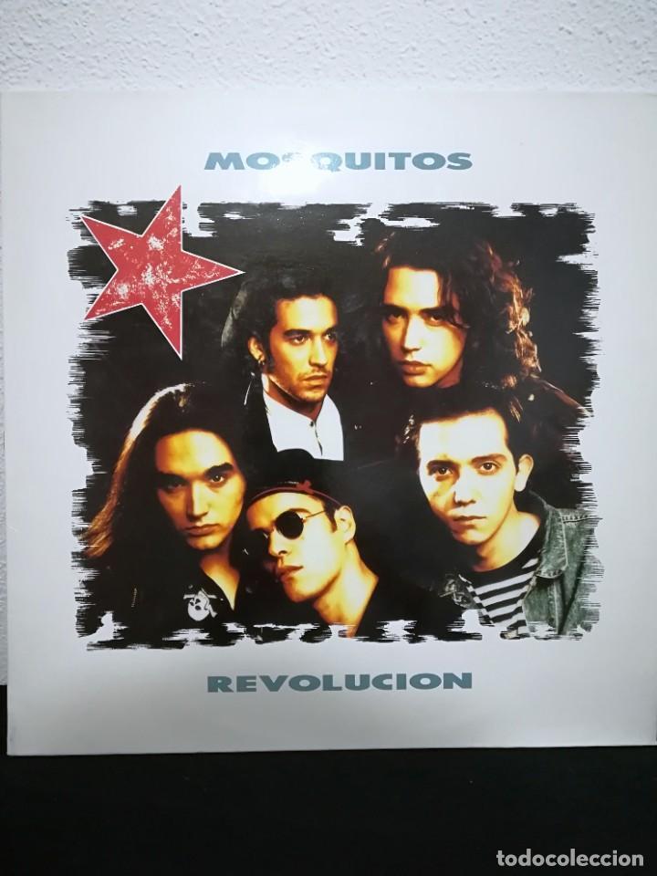 LP MOSQUITOS* - REVOLUCIÓN (LP, ALBUM), 1990, EXCELENTE!! CON INSERT (Música - Discos - LP Vinilo - Grupos Españoles de los 90 a la actualidad)