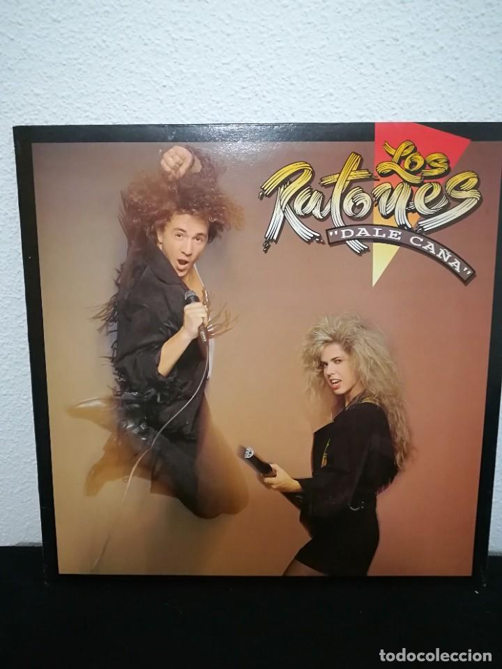 LP LOS RATONES - DALE CAÑA (LP, ALBUM, GAT), SPAIN 1989 (Música - Discos - LP Vinilo - Grupos Españoles de los 70 y 80)