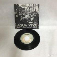 Discos de vinilo: AGUA VIVA, DISCO AÑO 1969. Lote 234551255