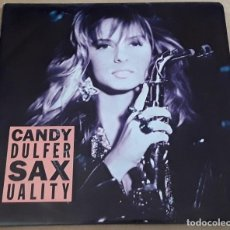 Discos de vinilo: SINGLE - CANDY DULFER - SAXUALITY / HOME IS NOT A HOUSE. Lote 234552250