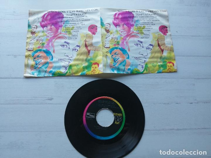 Discos de vinilo: Diana Ross y The Supremes con The Temptations EP MEXICO MUY RARO 1968 EX/EX - Foto 2 - 234564990
