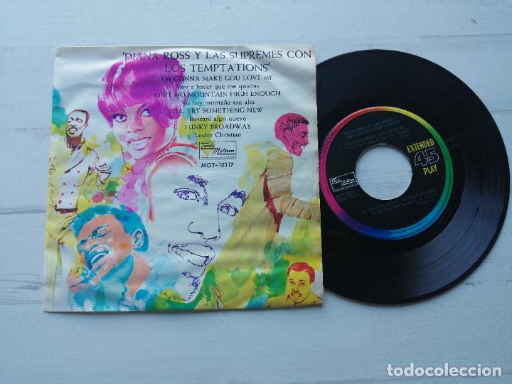 DIANA ROSS Y THE SUPREMES CON THE TEMPTATIONS EP MEXICO MUY RARO 1968 EX/EX (Música - Discos de Vinilo - EPs - Funk, Soul y Black Music)