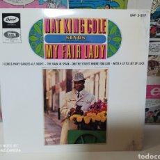 Discos de vinilo: NAT KING COLE–NAT KING COLE SINGS MY FAIR LADY . EP SPAIN 1964. Lote 234568620