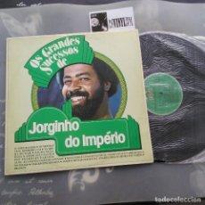 Discos de vinilo: OS GRANDES SUCESSOS DE JORGINHO DO IMPÉRIO LP POLYFAR – 2493 118 EDICIÓN BRASIL. Lote 234569190