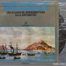 Discos de vinilo: EP. MARCHA DE SAN IGNACIO-DEUN AGEDA. Lote 234578590