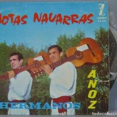 Discos de vinilo: EP. JOTAS NAVARRAS. HERMANOS ANOZ. Lote 234578740