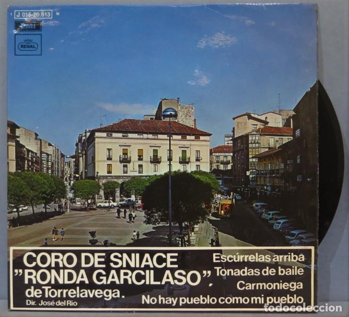 EP. CORO DE SNIACE RONDA GARCILASO DE TORRELAVEA. ESCURRELAS ARRIBA (Música - Discos de Vinilo - EPs - Étnicas y Músicas del Mundo)