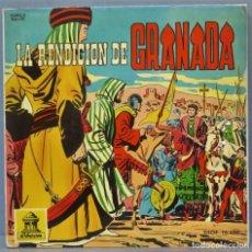 Discos de vinilo: EP. LA RENDICION DE GRANADA. DISCOS INFANTILES. Lote 234579615