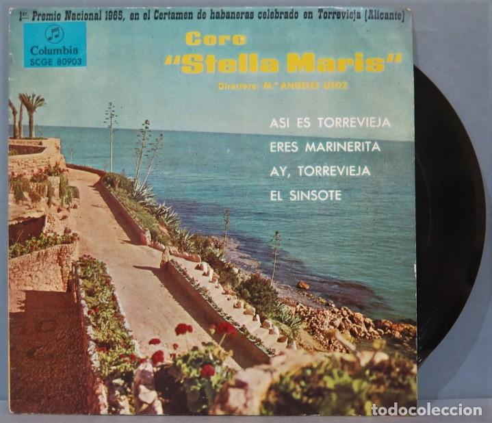 EP. CORO STELLA MARIS. ASI ES TORREVIEJA (Música - Discos de Vinilo - EPs - Étnicas y Músicas del Mundo)
