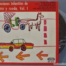 Discos de vinilo: EP. CORO INFANTIL LA TREPA. CANCIONES INFANTILES DE CORRO Y RUEDA, VOL.1. Lote 234580345