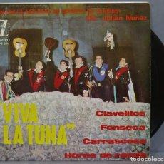 Discos de vinilo: EP. VIVA LA TUNA. CLAVELITOS. Lote 234580690