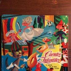 """Discos de vinilo: SINGLE 7"""" CUENTOS INFANTILES, """"EL GORRIÓN QUE NO QUISO ESTUDIAR"""", ODEON 1958. Lote 234588135"""