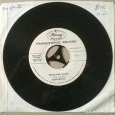 Discos de vinilo: BEN HEWITT. WHIRLWIND BLUES/ THE QUEEN IN THE KINGDOM OF MY HEART. MERCURY, USA 1960 SINGLE PROMO. Lote 234590175