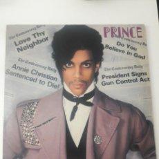 Discos de vinilo: PRINCE – CONTROVERSY ITALY 1981. Lote 234590490