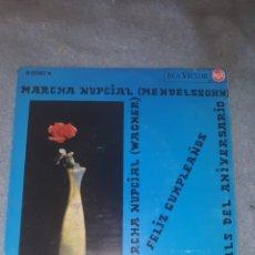 Discos de vinilo: MARCHA NUPCIAL - MENDELSON. Lote 234590285