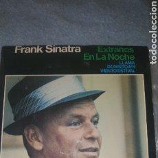 Discos de vinilo: FRANK SINATRA. ESTRAÑOS EN LA NOCHE. HISPAVOX HRE 297-46. Lote 234591595