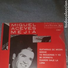Discos de vinilo: MIGUEL ACEVES MEJIA Y EL MARIACHI VARGAS DE TECALITLAN- GUITARRAS DE MEDIANOCHE + 3 - EP. TDKDS16. Lote 234592885