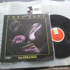 "Discos de vinilo: CETU JAVU – SO STRANGE 12"" BASIC MIX – BASIX - 021. Lote 234606075"